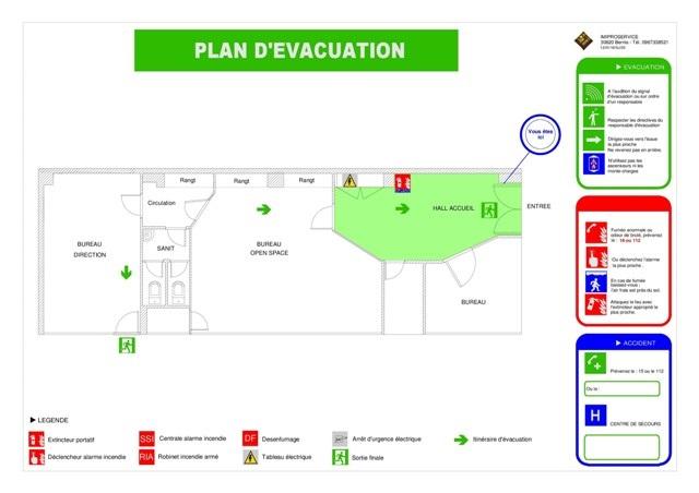 Expertise incendie pour la constitution d'un plan d'évacuation